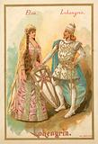 Elsa and Lohengrin, from Richard Wagner's opera Lohengrin