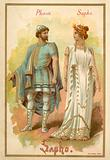 Phaon and Sappho, from Giovanni Pacini's opera Saffo
