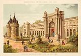 Palace of the Ministry of War, Exposition Universelle 1889, Paris