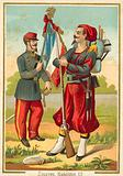 French Zouaves of the time of Napoleon III