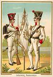 French infantry of the Restoration