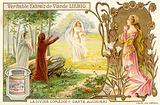 Scene from Divine Comedy, by Dante Alighieri