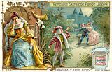 Scene from Hernani, by Victor Hugo