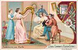 Harp, France, 1810