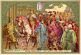 Henry V rejects Falstaff