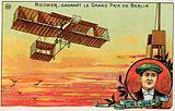 French aviator Henri Rougier winning the Grand Prix of Berlin, 1909