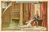Scene from Giacomo Meyerbeer's opera Les Huguenots