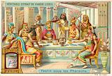 Feast under the pharaohs of Ancient Egypt