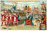 Triumphal reception of Vasco da Gama in Lisbon, September 1499