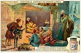 The Abbasid caliph Harun al-Rashid mingling with his people incognito