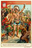 Scene from Last of the Mohicans, by James Fenimore Cooper