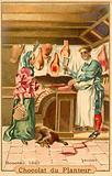 Butcher, 1640