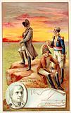 Napoleon in exile on St Helena