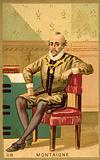 Michel de Montaigne, French writer and philosopher
