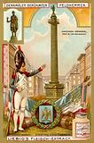 Vendome Column, monument to Napoleon, Paris