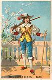 Musketeer, 1630