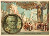 Scene from Giuseppe Verdi's opera Aida
