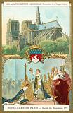 Notre Dame de Paris, and the coronation of Napoleon I as emperor of France, 1804
