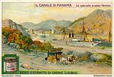 Panama Canal near Paraiso