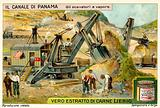 Steam excavator, Panama Canal