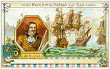 Michiel de Ruyter, Dutch admiral, and the Raid on the Medway, 1667