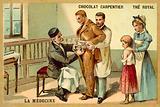 Louis Pasteur inoculating a patient against rabies at the Pasteur Institute