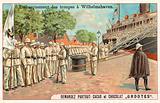 Embarkation of German troops at Wilhemshaven, Boxer Rebellion, 1900