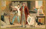Alois Senefelder, German inventor of lithography