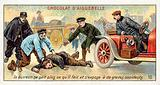 The drunkard does not know what he is doing and exposes himself to the risk of serious accidents