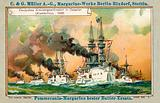 German cruiser squadron in the Far East (Jiaozhou), 1898