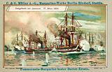 Naval battle of Jasmund, 17 March 1864