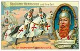 Frederick Barbarossa's journey to Jerusalem, 3rd Crusade, 1189-1190