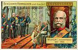 Wilhelm I proclaimed Emperor of Germany in Versailles, 1871