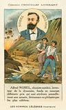 Alfred Nobel, Swedish chemist and industrialis who invented dynamite