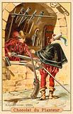 Harquebusier, 1500