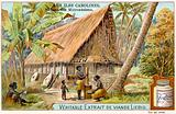 Micronesian long house, Caroline Islands