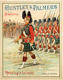 Soldiers of a Highland regiment on parade