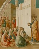 The Preaching of St Stephen