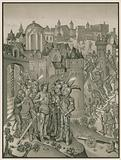 Siege of a Town defended by the Burgundians under Charles VI