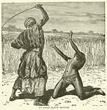 An Arab Slave Master