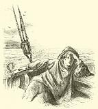 The boy, James Barry, was one of his father's crew