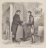 Pip, How are you Pip? Illustration for Great Expectations