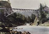 Pont Sur La Riviere Du Saumon, Colombie Britannique