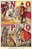 The Royal Alphabet, N, O, P, Q