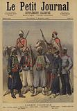 Soldiers of the French colonial army