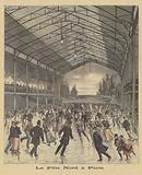 Ice rink in Paris