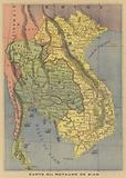 Map of the Kingdom of Siam