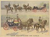 Carriages used by the tsar and tsarina of Russia on their visit to France