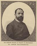 Leon Bourgeois, French delegate to the Hague Peace Conference of 1899