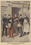 Postal strike in Paris
